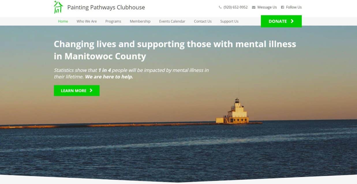 Painting Pathways Clubhouse Website