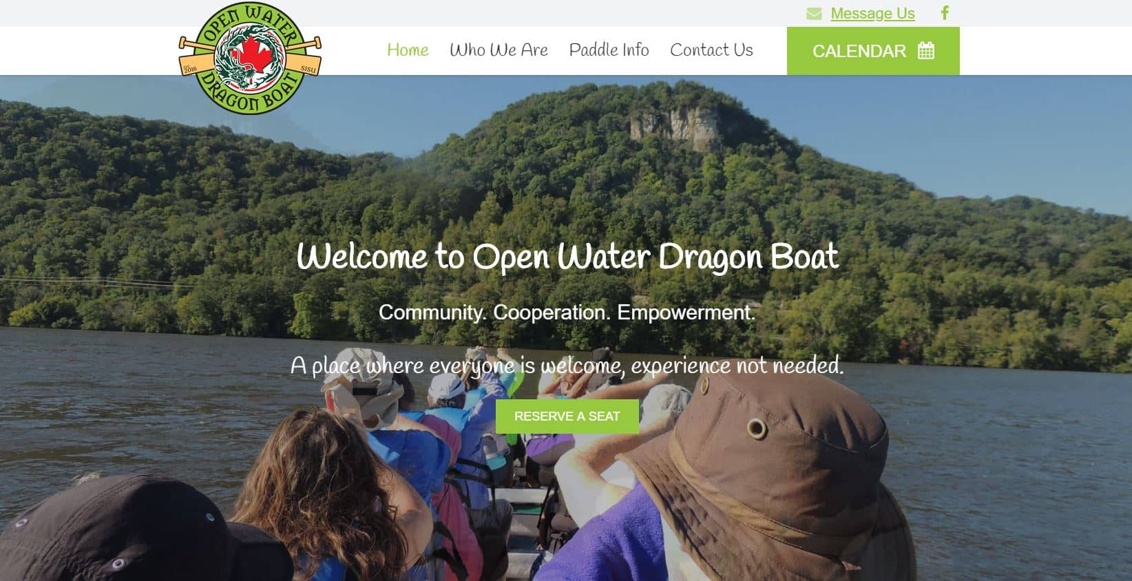 Open Water Dragon Boat