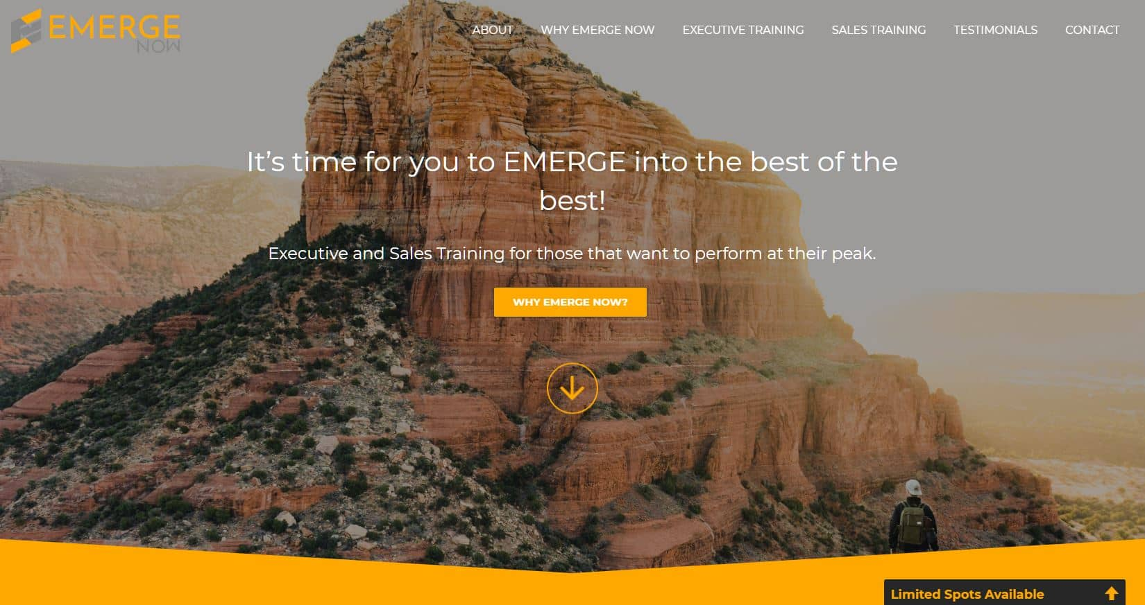 Emerge Now Website